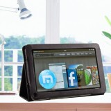 Folio PU Leather Stand Case Cover For Amazon Kindle Fire HD 9 inch Tablet