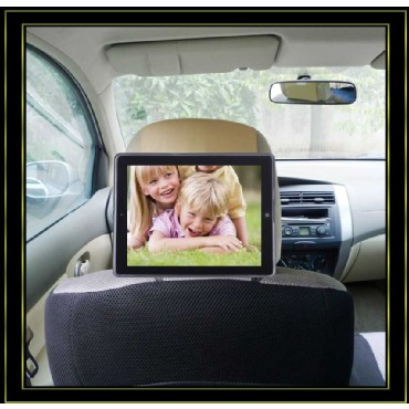 Car Headrest Mount Case Holder for iPad 2,3,4