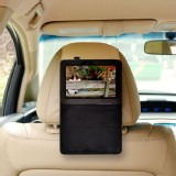TFY Car Headrest Mount for Amazon Kindle Fire HD 7 inch Tablet + Stand Cover Case with 3M Velcro