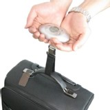 New Digital Travel Luggage Scale Temperature Display Suitcase