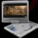 11.5 inch Portable DVD Player, Game+USB+DIVX+SD, Swivel&Flip