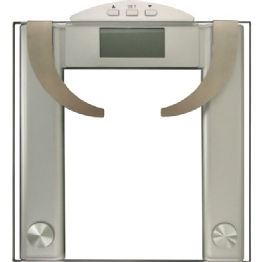 New Bathroom Personal Digital Body Fat & Water Scale Weight Max 200KG/440lbs 8MM