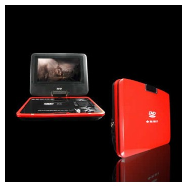 7.5 inch  Portable DVD Player, Game+USB+DIVX+SD, Swivel&Flip