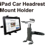 Adjustable Car headrest Mount for iPad1