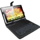 New 10.2 inch Leather Keyboard Case for 10.2 inch aPad ePad Tablet