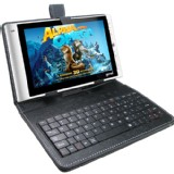 New 7 inch Leatherx Keyboard Case for 7 inch Tablet