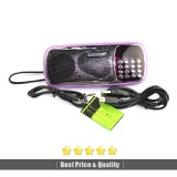 LEONA Rechargeable Multimedia Portable Speaker FM Radio/USB/Micro SD/TF/MP3