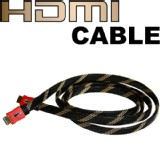 6.6FT 1.4 HDMI Cable Cord Wire BluRay LCD 3D TV HDTV PS3 DVD Ethernet