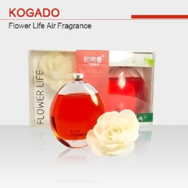KOGADO Japanese Original Manufacture Car Air Freshener Flower Life Series