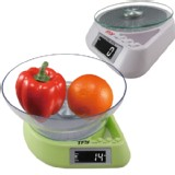 Max11lb Digital Diet Food Postal Kitchen Scale Bright LED with Bowl g/oz From US