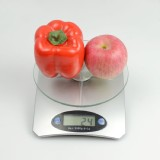 Digital Kitchen Scale Diet Food 11LB/160OZ&1.06QT Bowl