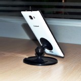 Suction-Mount Stand,Car Mount  for iPhone, Andriod Smartphones - 360 Degree Rotation