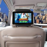 Amazon Kindle Fire 7 Case TFY Car Headrest Mount Black Strap Holder Safe for Kids