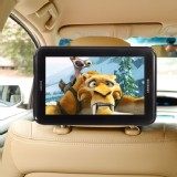 For Samsung Galaxy Tab 7.0 Plus P6200 (P6210) TFY Car Headrest Mount Beige Strap Case