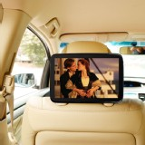 Car Headrest Case Mount Beige Strap Holder for Google NEXUS 10  Safe for Kids