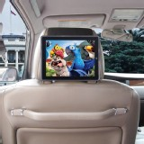TFY iPad Case Cover Car Headrest Mount Black Strap Holder For iPad 2 3 4