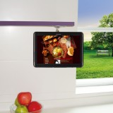 Adjustable Kitchen Shelf or Cabinet Mount for Samsung Galaxy Note 10.1 N8000 N8010