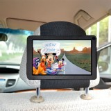 "TFY Car Headrest Mount for Kindle Fire 7"" Tablet Attractive PU Leather- Safe for Kids"