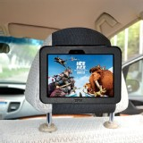 "TFY Car Headrest Mount for Kindle Fire HD 7"" Tablet Attractive PU Leather- Safe for Kids"