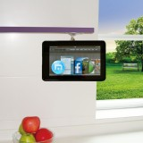 TFY Adjustable Kitchen Shelf or Cabinet Mount for Kindle Fire 7