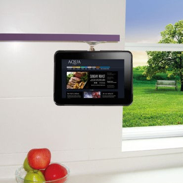 Adjustable Kitchen Cabinet Mount for Samsung Galaxy Tab 7.7 P6800