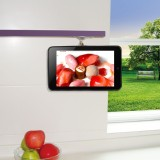 TFY Adjustable Kitchen Shelf Cabinet Mount for Google Nexus 7 2012