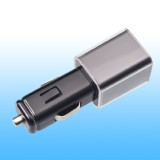 USB Car Charger with 2100mA High Output for iPhone, iPad, Android Smartphones