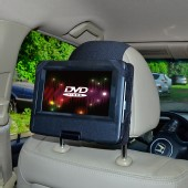 Car Headrest Mount for 7 inch Swivel & Flip Style Portable DVD Players