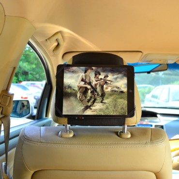 TFY Universal Car Headrest Mount for 6-8 Inch Tablets
