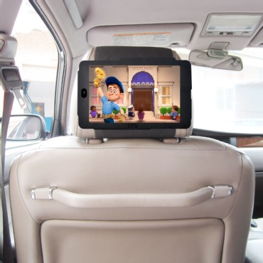 TFY Car Headrest Mount for Google Nexus 7 Attractive PU Leather- Safe for Kids
