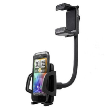 Universal Car Rearview Mirror Mount Holder for Cell phone and other Electronic Devices
