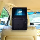 Car Headrest Mount for 7 inch Non Swivel Portable DVD Players