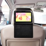 TFY Car Headrest Mount with PU Leather Stand Case for Blackberry Playbook 7