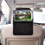 TFY Car Headrest Mount with PU Leather Stand Case for Samsung Galaxy Tab 3 7.0 P3200