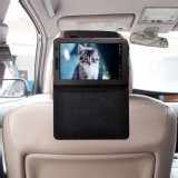 TFY Car Headrest Mount with PU Leather Stand Case for Samsung Galaxy Tab 2 7.0 P3100