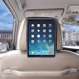 TFY Car Headrest Mount Case Holder for iPad Air/iPad 5 with bonus Hand Strap
