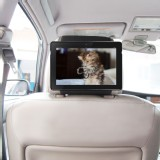 TFY Car Headrest Mount Case Holder for Kindle Fire HDX 8.9 with bonus Hand Strap
