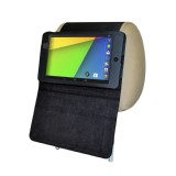 TFY PU Leather Car Headrest Mount with Portable Stand Case for Google NEXUS 7(2nd Gen) 2013