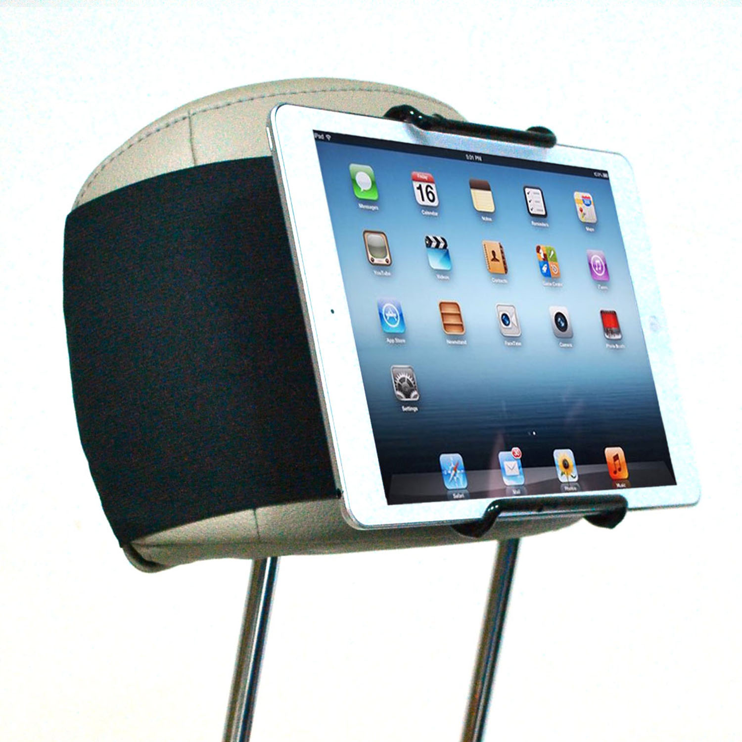 TFY Universal Car Headrest Mount Holder for IPAD, Samsung and other ...