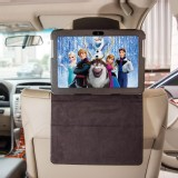 TFY Car Headrest Mount Holder for Samsung Galaxy Tab 2 (10.1 Inch) P5100,PU Leather,Black
