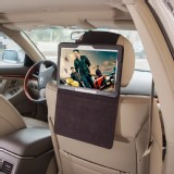 TFY Car Headrest Mount Holder for Samsung Galaxy Note 10.1 P600,PU leather,Black