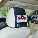 TFY Car Headrest Mount for Samsung Galaxy Note 2 (N7100),Fast-Attach Fast-Release
