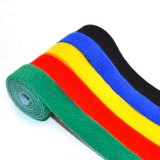 5 PCS of Cable-Tidy Velcro Fastening Tape Blue Red Black Green Yellow