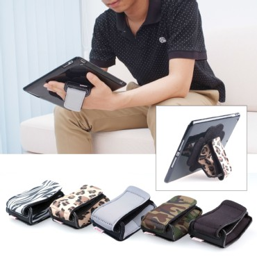TFY Padded Hand-Strap plus Tablet Pc Cover Case for iPad Air