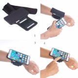 TFY Open-Face Sport Armband + Detachable Case for iPhone 6 Plus