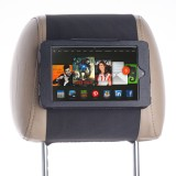 Attractive PU Leather Car Headrest Mount for Kindle Fire HD Tablet - Safe for Kids