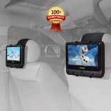 TFY Car Headrest Mount Holder for SYLVANIA SDVD9805 Portable DVD Player