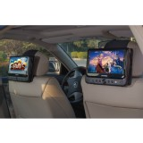 TFY Car Headrest Mount for SYLVANIA SDVD9805 Portable DVD Player
