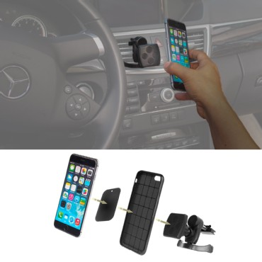 Wanpool Universal Magnetic Car Air Vent Mount for iPhones and other Smart phones