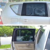 TFY Universal Car Rear Side-Door Square-Window Sunshades